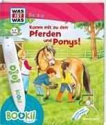 Cover-Bild zu BOOKii® WAS IST WAS Junior Komm mit zu den Pferden und Ponys! von Braun, Tina