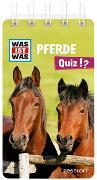 Cover-Bild zu WAS IST WAS Quiz Pferde von Lehnert, Lorena