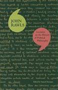 Cover-Bild zu Rawls, John: Lectures on the History of Political Philosophy