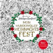 Cover-Bild zu Basford, Johanna: Mein wundervolles Weihnachtsfest