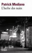 Cover-Bild zu Modiano, Patrick: L'herbe des nuits