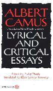 Cover-Bild zu Camus, Albert: Lyrical and Critical Essays