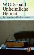 Cover-Bild zu Sebald, W.G.: Unheimliche Heimat