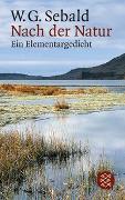 Cover-Bild zu Sebald, W.G.: Nach der Natur