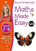 Cover-Bild zu Vorderman, Carol: Maths Made Easy: Beginner, Ages 7-8 (Key Stage 2)