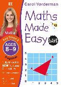 Cover-Bild zu Vorderman, Carol: Maths Made Easy: Beginner, Ages 8-9 (Key Stage 2)