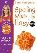 Cover-Bild zu Vorderman, Carol: Spelling Made Easy, Ages 6-7 (Key Stage 1)
