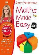 Cover-Bild zu Vorderman, Carol: Maths Made Easy: Beginner, Ages 10-11 (Key Stage 2)