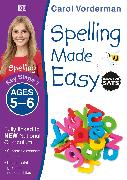 Cover-Bild zu Vorderman, Carol: Spelling Made Easy, Ages 5-6 (Key Stage 1)