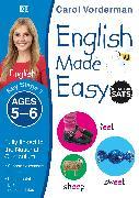 Cover-Bild zu Vorderman, Carol: English Made Easy, Ages 5-6 (Key Stage 1)