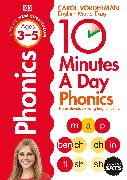 Cover-Bild zu Vorderman, Carol: 10 Minutes A Day Phonics, Ages 3-5 (Preschool)