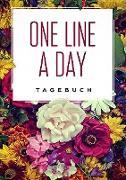 Cover-Bild zu One Line a Day - Das Tagebuch für deine wichtigsten Gedanken von Dreamer, Day
