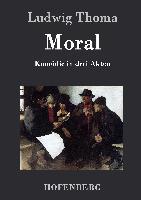 Cover-Bild zu Ludwig Thoma: Moral