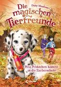 Cover-Bild zu Die magischen Tierfreunde 15 - Pina Pünktchen kommt in die Zauberschule von Meadows, Daisy