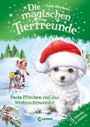 Cover-Bild zu Die magischen Tierfreunde - Paula Pfötchen und das Weihnachtswunder von Meadows, Daisy