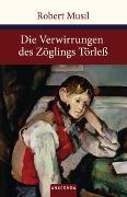 Cover-Bild zu Musil, Robert: Die Verwirrungen des Zöglings Törleß