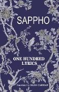 Cover-Bild zu Sappho: One Hundred Lyrics