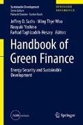 Cover-Bild zu Sachs, Jeffrey D. (Hrsg.): Handbook of Green Finance: Energy Security and Sustainable Development