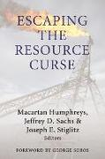 Cover-Bild zu Humphreys, Macartan (Hrsg.): Escaping the Resource Curse