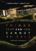 Cover-Bild zu Roy, Arundhati: Things That Can and Cannot Be Said: Essays and Conversations