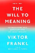 Cover-Bild zu Frankl, Viktor E.: The Will to Meaning