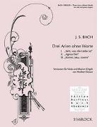 Cover-Bild zu Bach, Johann Sebastian (Komponist): Drei Arien ohne Worte