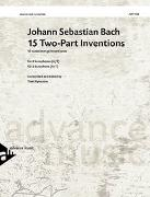 Cover-Bild zu Bach, Johann Sebastian (Komponist): 15 Two-Part Inventions