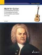 Cover-Bild zu Bach, Johann Sebastian (Komponist): Bach for Guitar