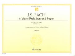 Cover-Bild zu Bach, Johann Sebastian (Komponist): Acht kleine Präludien und Fugen