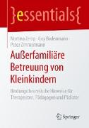 Cover-Bild zu Zemp, Martina: Außerfamiliäre Betreuung von Kleinkindern