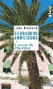 Cover-Bild zu Rosteck, Jens: Gebrauchsanweisung für Nizza und die Côte d'Azur