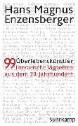Cover-Bild zu Enzensberger, Hans Magnus: Überlebenskünstler