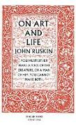 Cover-Bild zu Ruskin, John: On Art and Life