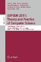 Cover-Bild zu Gyimóthy, Tibor (Hrsg.): SOFSEM 2011: Theory and Practice of Computer Science