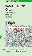 Cover-Bild zu Basel - Laufen - Olten. 1:50'000