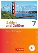 Cover-Bild zu Zahlen und Größen, Berlin und Brandenburg, 7. Schuljahr, Schülerbuch von Berkemeier, Helga
