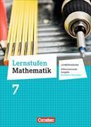 Cover-Bild zu Lernstufen Mathematik, Differenzierende Ausgabe Nordrhein-Westfalen, 7. Schuljahr, Schülerbuch - Lehrerfassung von Berkemeier, Helga