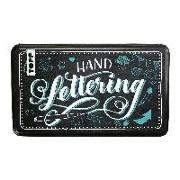 Cover-Bild zu frechverlag: Handlettering Designdose mit Brush Pens