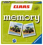 Cover-Bild zu Hurter, William H.: Ravensburger 22171 - Claas memory®, der Spieleklassiker für alle Landmaschinen Fans, Merkspiel für 2-8 Spieler ab 4 Jahren