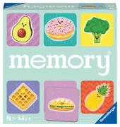 Cover-Bild zu Hurter, William H.: Ravensburger 20612 - Funny Food memory®, der Spieleklassiker für alle Essens-Fans, Merkspiel für 2-6 Spieler ab 3 Jahren