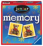 Cover-Bild zu Hurter, William H.: Ravensburger 21452 - Junior memory®, der Spieleklassiker für die ganze Familie, Merkspiel für 2-8 Spieler ab 4 Jahren
