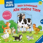 Cover-Bild zu Gernhäuser, Susanne: ministeps: Mein Schiebespaß: Alle meine Tiere
