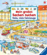 Cover-Bild zu Gernhäuser, Susanne: Mein großes Sachen suchen: Viele, viele Fahrzeuge