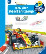 Cover-Bild zu Gernhäuser, Susanne: Wieso? Weshalb? Warum? Alles über Rennfahrzeuge (Band 69)