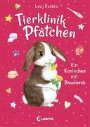 Cover-Bild zu Daniels, Lucy: Tierklinik Pfötchen (Band 2) - Ein Kaninchen mit Bauchweh