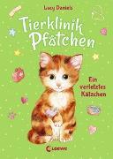 Cover-Bild zu Daniels, Lucy: Tierklinik Pfötchen (Band 1) - Ein verletztes Kätzchen