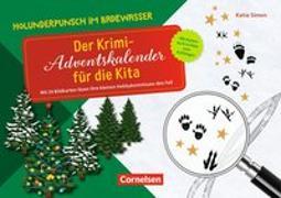Cover-Bild zu Simon, Katia: Holunderpunsch im Badewasser - Der Krimi-Adventskalender für die Kita
