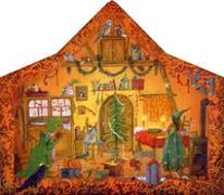 Cover-Bild zu Drescher, Daniela (Illustr.): Adventskalender Merlind, die kleine Zauberin