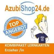 Cover-Bild zu Christiansen, Jennifer: AzubiShop24.de Kombi-Paket Lernkarten Erzieher /in