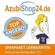 Cover-Bild zu Christiansen, Jennifer: AzubiShop24.de Spar-Paket Lernkarten Industriemechaniker /in